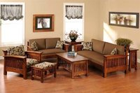 5 Seater Sheesham Sofa