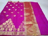 Fancy Chanderi Slik Saree