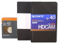 40 Minute Hdcam Certified Evaluated Professional Video Tape (Sony)