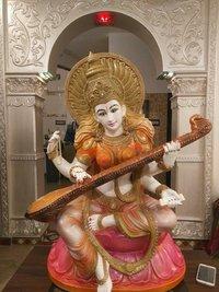 Fiber Saraswati Statue