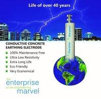 Conductive Concrete Earth Electrodes