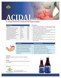 Acidal Syrup