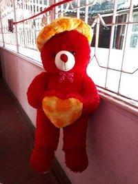 Cap And Heart Teddy 65 Cm