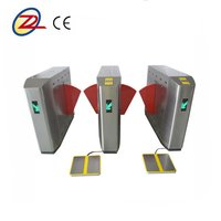 Automatic Access Control Flap Barrier Gates With Esd System