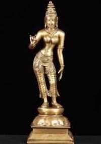 Brass Parvati Statues