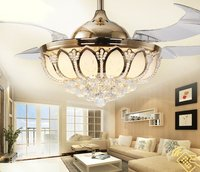 Three Colors Led Ceiling Light With Invisible Fan
