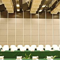 Sliding Folding Wooden Movable Partition Wall