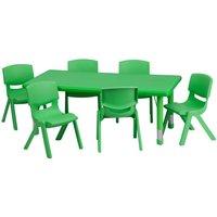 Plastic Rectangle Table