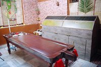 Ayurvedic Wooden Massage Table