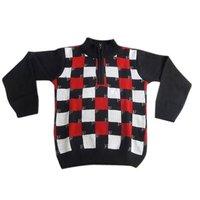 Kids Half Zip Pullover Sweater
