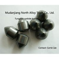Tungsten Carbide Button Tips