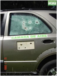Ballistic Bullet Proof Glass One Way