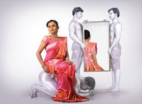 Trendy Shaded Silk Sarees