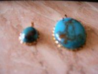 Gemstone Turquoise Pendant