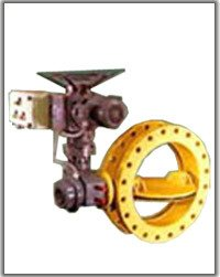 Wafer Type Double Flanged Butterfly Valve With Electrical Actuator