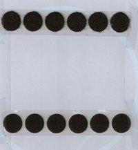 Round Shape Velcro Tape