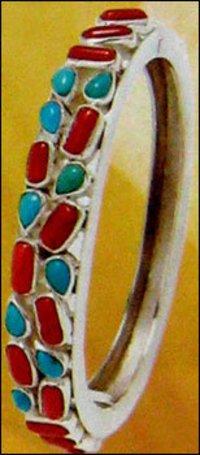 Antique Design Silver Bangles