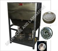 Semi Automatic Paper Plate Double Dye Machine