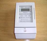 Static Single Phase Electronic Kwh Meter