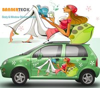 Customized Car Vinyl Stickers