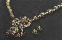 Trendy Polki Necklace Set