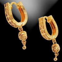 Charming Gold Earrings