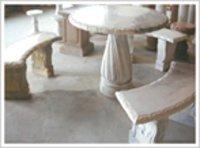 Sandstone Garden Table