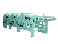 Three-Roller Cotton Waste Recycling Machine