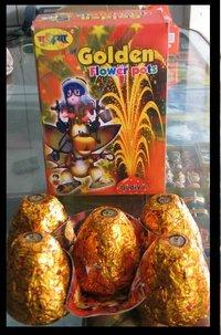 Flower Pot Golden