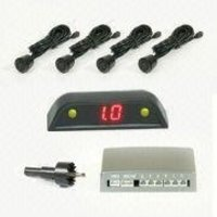 Car Reverse Parking Sensor With Rainbow Led Green Yellow Red 3 Color Display