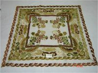 Nett With Multi Color Velvet Floral Patches