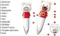 Edusonic Cute Bear Electronic Reading Pen