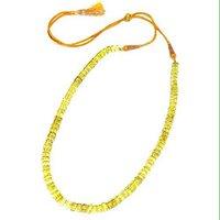 Green Gold Beads