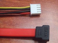 Sata Data And Power Cable