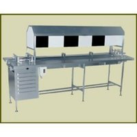 Manual Vial & Bottle Inspection Machine With Black & White Border