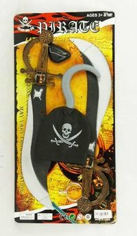 Plastic Pirate Play Toy