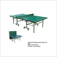 TB-203 One-Folded Portable Table Tennis Table