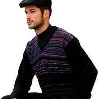 V-Necked Sweater