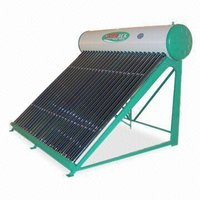 Carbon Steel Painted Series Non-Pressure System Solar Water Heater, Capacity 120 To 400 Liters