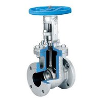 Cross Section Class 150 Gate Valves