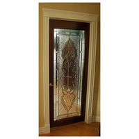 Decorative Stained Glass Doors