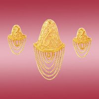 Gold Plated Pendant Sets