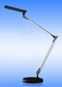 12W LED Desk Lamp Folding Arm Black