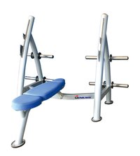 Flat Olympic Bench Hot Commercial Gym Fitness Bench