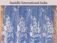 Floral Design Net Curtains