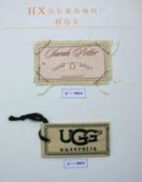 Elegant Garment Hang Tags
