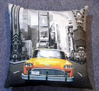 Customised Cuba Car Design Print Cushions