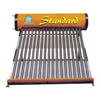 Solar Water Heater With Zink Coated Inner Tank