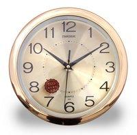 29cm Golden Aluminium Dial Decorative Wall Clocks
