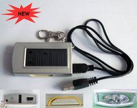 3 LED Solar Torch (with USB Cable)